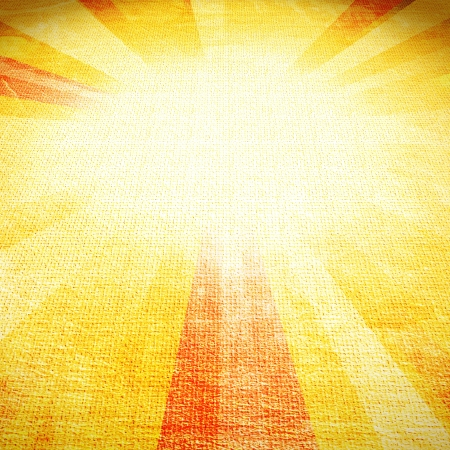 vintage abstract suns rays on the wall grunge photo