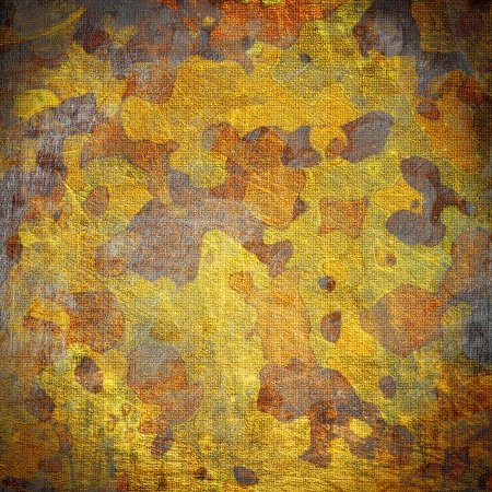 dingy camouflage on natural canvas  photo
