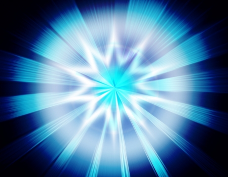 glimmer: magic burst with rays of light, abstract background