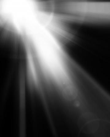 light beam:  spotlight Black and White Lighting Equipment Stock Photo