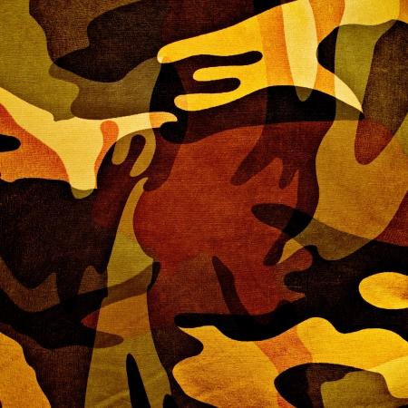 guerrilla: Military texture (brown, black, marsh, green colors)
