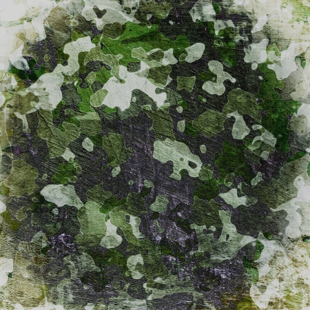 multilayer: Camuflaje s�rdido sobre lienzo naturales