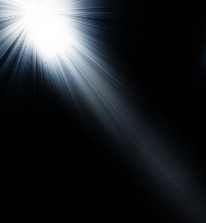 spotlight Black and White Lighting Equipment Stock Photo