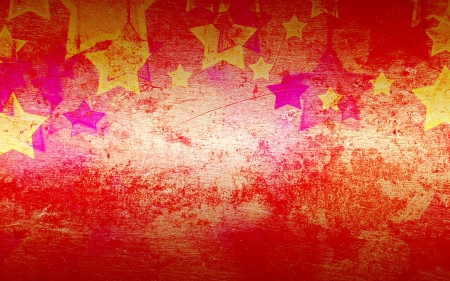 failures: abstract stars on the grunge  background