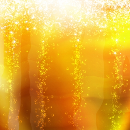 champagne bubbles:  bubbles in a glass of champagne, romantic background