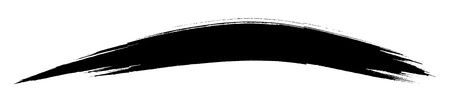 pix:   grunge  black spot , drawn with a brush on a white