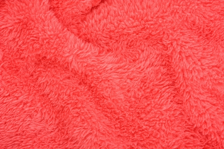 red wavy background texture in perspective microfiber towel photo
