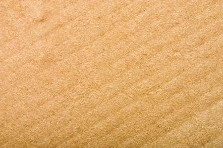 goffer:  Brown corrugated cardboard sheet background  Stock Photo