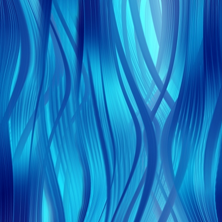 abstract blue background of luminescent lines  Stock Photo - 16503051