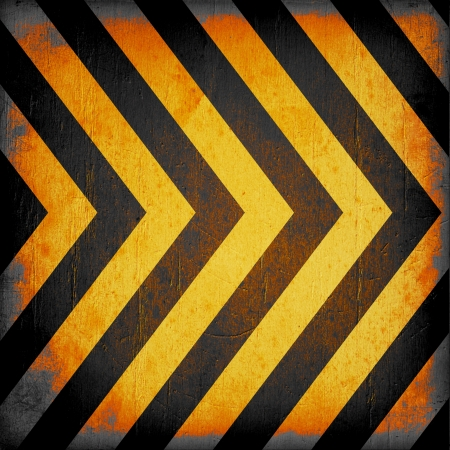 Warning Background Texture With Common Black and Yellow Stripes photo