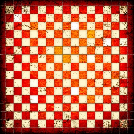 grunge red squares on a white background Stock Photo - 16503276