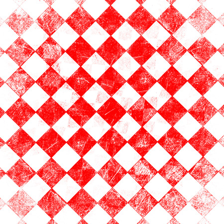 diner: grunge red checkered, abstract  background