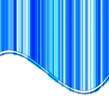 elegant abstract design with   blue stripes and shades of white curves of the red abstract  lines Stock Photo