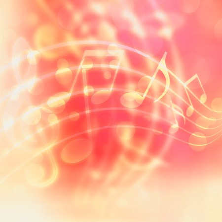 conservatory: abstract musical background with blurred lights