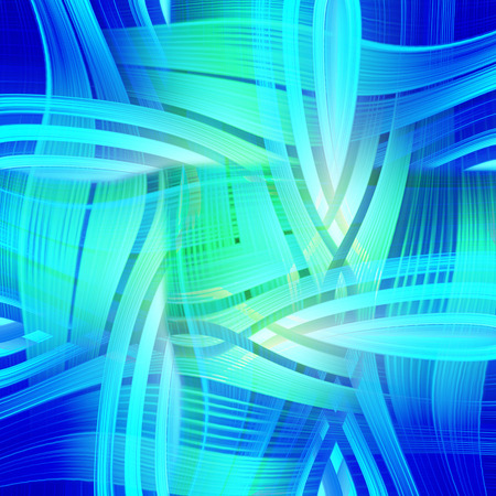 prerequisite: abstract blue background of luminescent lines