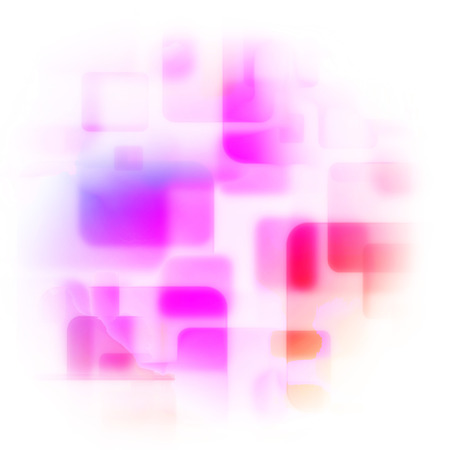 multitude: Abstract background with transparent squares.