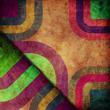 grunge background: abstract curved bands, grunge background Stock Photo