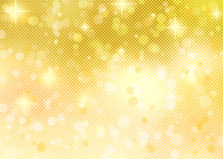 confetti background: Beautiful golden background with stars