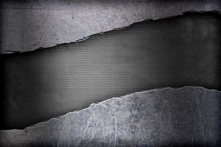 metal frame: metal frame, an abstract grunge background
