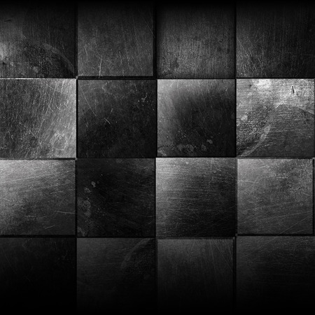 metal grid: metal grunge texture of old tiles