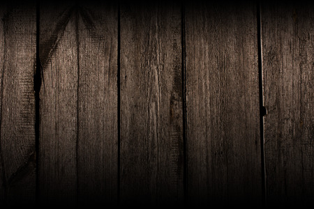 dark interior: old  wooden background, horizontally placed