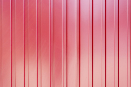 roof profile: The red corrugated metal walls, background, texture