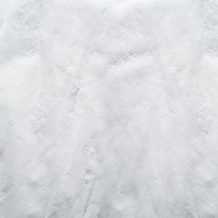 white napkin: white napkin, wet wrinkled texture