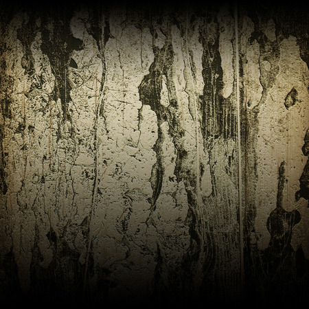 spall: grunge wood with peeling paint texture