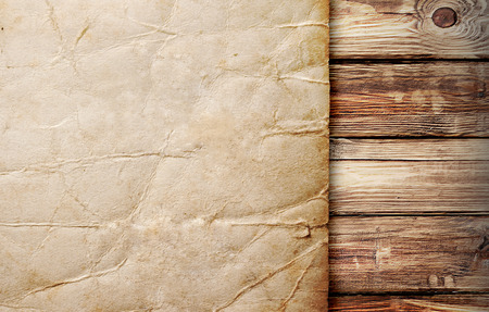 prerequisite: texture of the old brown board, closeup Stock Photo