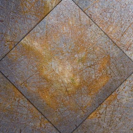 steel sheet: rusty steel sheet of metal