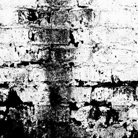 b w: b & w brick wall grunge abstract background