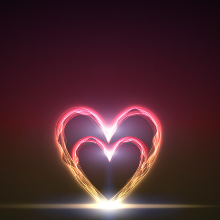 valentine s: abstract background of color heart