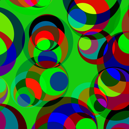 prerequisite: abstract background of colored circles funny