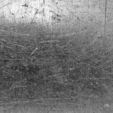 metallic: Brushed silver metallic background Stock Photo