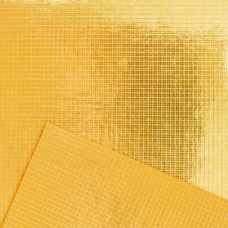 prerequisite: texture of the gold embossing of cardboard close up