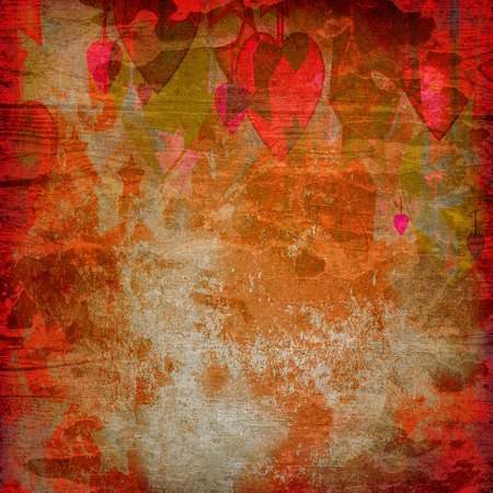 failures: abstract hearts and stars on the grunge background