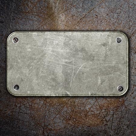 rusty: grunge placa de metal resumen de antecedentes