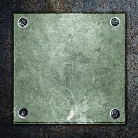 grunge metal: grunge metal plate abstract background