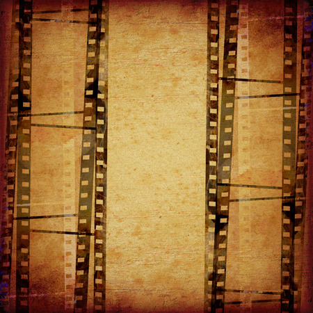 filmroll: abstract composition of movie frames or film strip