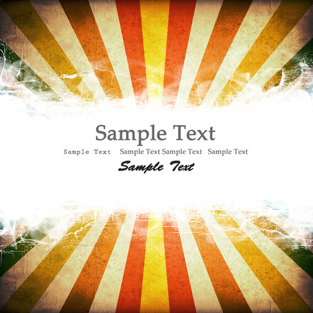 carnival background: Multicolor Sunbeams grunge background. with copy space.