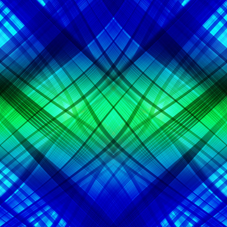blurring: abstract blue background of luminescent lines