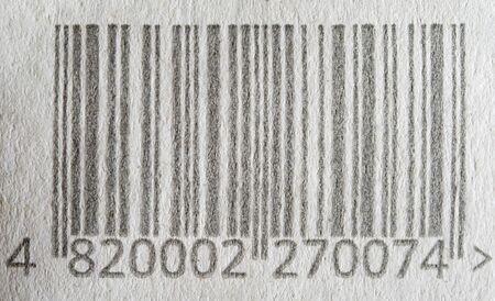 Original retail scan Bar Code background