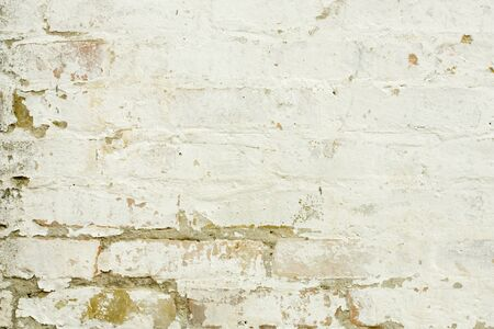 ragged old white wall background texture
