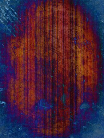 rusty blue striped grunge background Archivio Fotografico