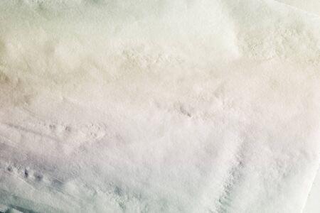 white napkin, wet wrinkled texture