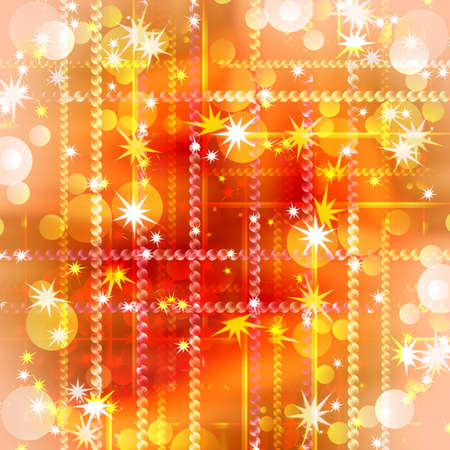 abstract background of festive bands and spots of light with the stars