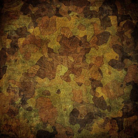 dingy camouflage on natural canvas Stockfoto
