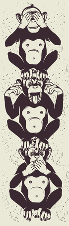 ignorance: The three wise monkeys