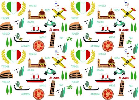 イタリアのパターン