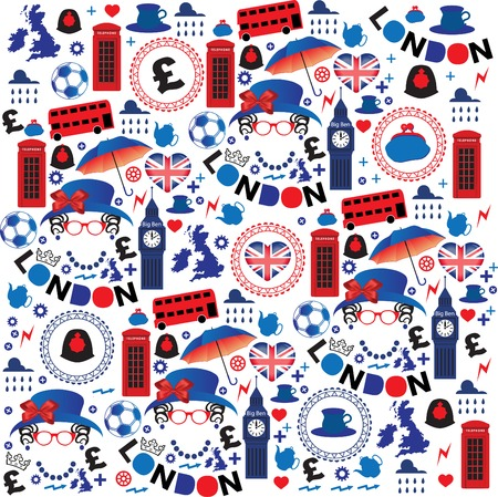 Pattern with London symbols